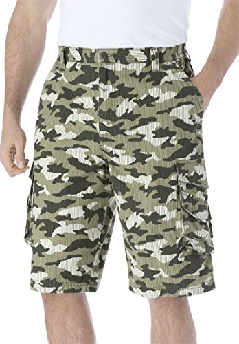 Kingsize Mens Boathouse Cargo Shorts