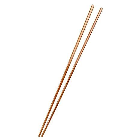 Palillos - TOOGOO(R) conjunto de 4 pares de palillos de madera de olla caliente de estilo japones para regalo