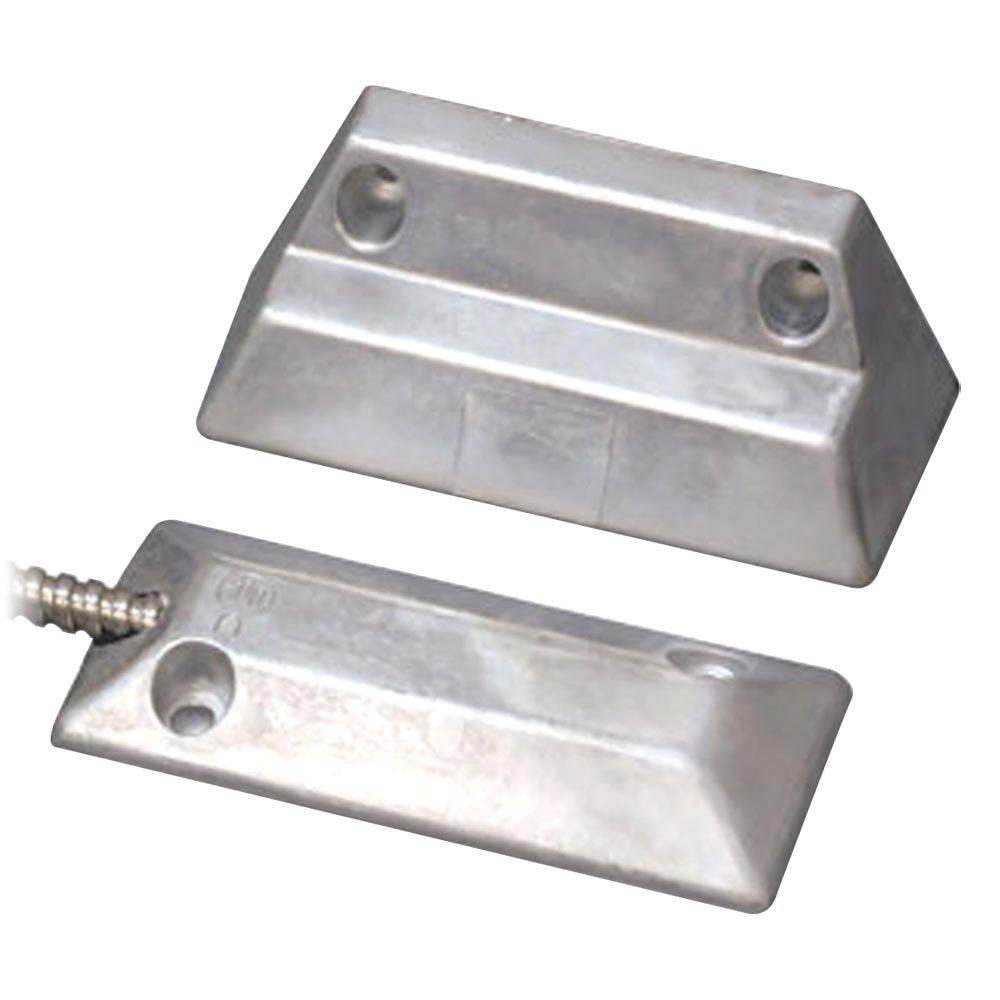 USP Mini Overhead Door Contact, Adjustable Magnet, 2-1/4 In. Gap, NC (SP3000-A)
