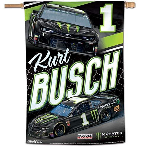 Wincraft Kurt Busch NASCAR Banner Flag