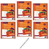 Smead Project Envelope, 1-1/4'' Expansion, String-Tie Closure, Side Load, Letter Size, 5 per Pack, 6 Pack, 30 Envelopes Total (89519) - Bundle Includes Universal Letter Opener
