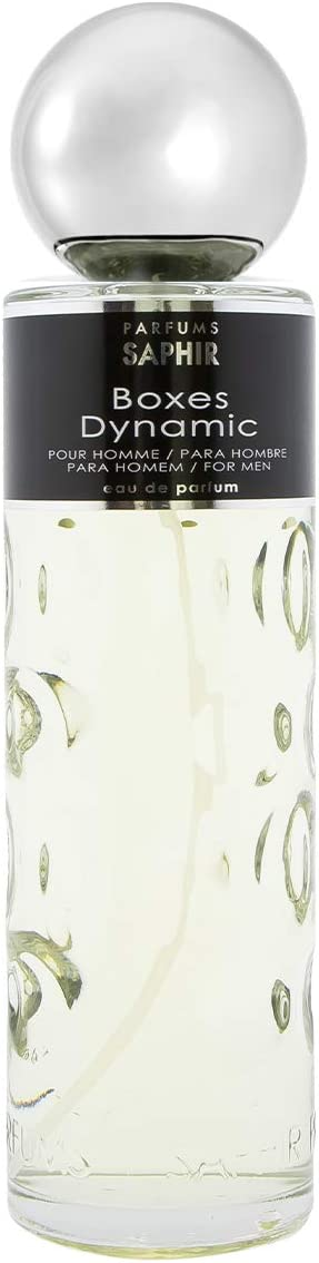 PARFUMS SAPHIR Boxes Dynamic - Eau de Parfum con vaporizador para Hombre - 400 ml