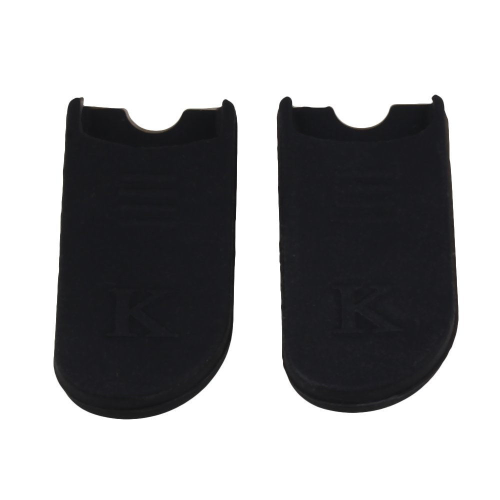 BQLZR Black Rubber Thumb Rest Cushion Pad Finger Protector Comfortable for Saxophone Pack of 2 BQLZRN27914