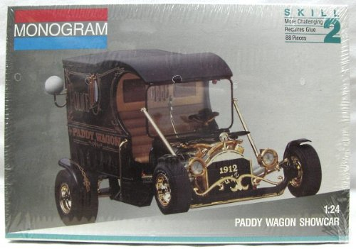 1995 Monogram /Revel Paddy Wagon Show Rod 1:24 Model, used for sale  Delivered anywhere in USA