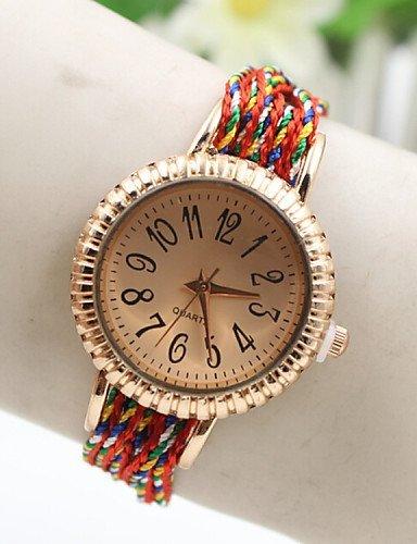 cd5b86b38d PEISHI J ultima quotazione oro rosa moda coreana fortunata serie di orologi  da donna colorati ,