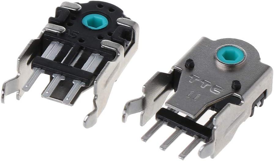 2 unidades n/úcleo verde Decodificador de mouse TTC original de 9 mm