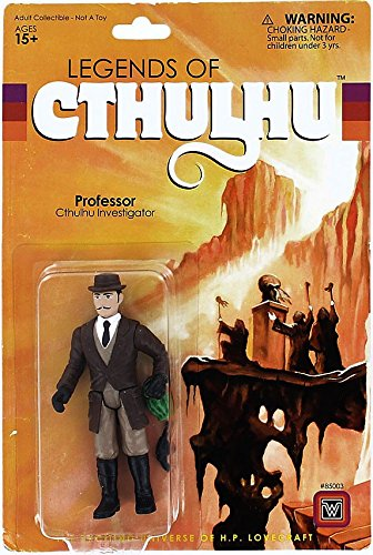 Warpo Toys Legends of Cthulhu Professor Retro Action Figure