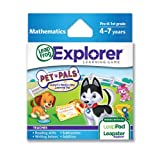 Software : LeapFrog Explorer Pet Pals Learning Game (works with LeapPad Tablets,  Leapster GS and Leapster Explorer))
