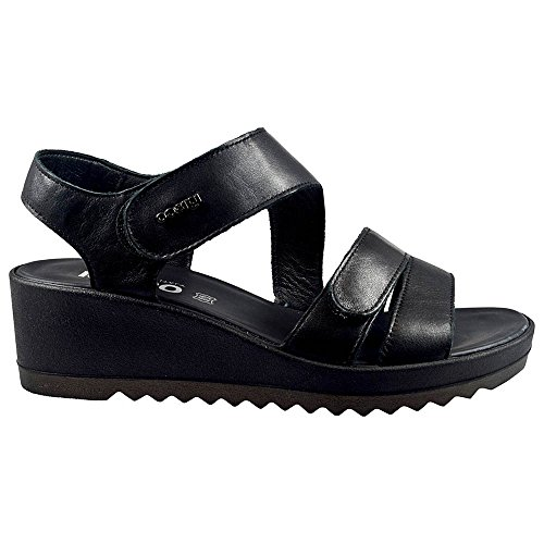 igico Zapatos Mujer DCY 11735negro, Negro, 35