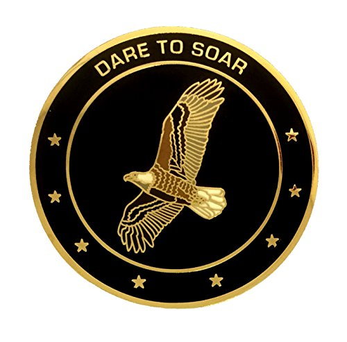 """""""Dare to Soar"""" Eagle Scout Challenge Coin, used for sale  Delivered anywhere in USA"""