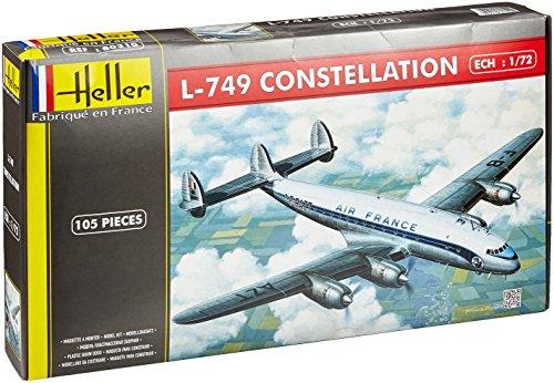 (1:72 Heller L-749 Constellation Air France Aircraft Model Kit)