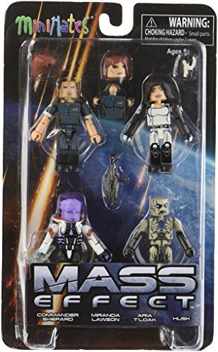 Diamond Select Toys Mass Effect: Series 1 Minimates Box Set by Diamond Select
