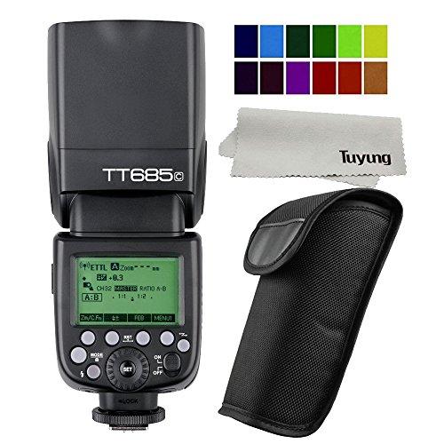 Godox TT685C GN60 1/8000s TTL 2.4G Wireless Flash Speedlite for Canon EOS 5D Mark III 5D MarkII 6D 7D 60D 50D 650D 600D 550D