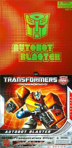 Transformers SDCC 2010 Exclusive G1 Autobot Blaster Action Figure Figure [Toy]