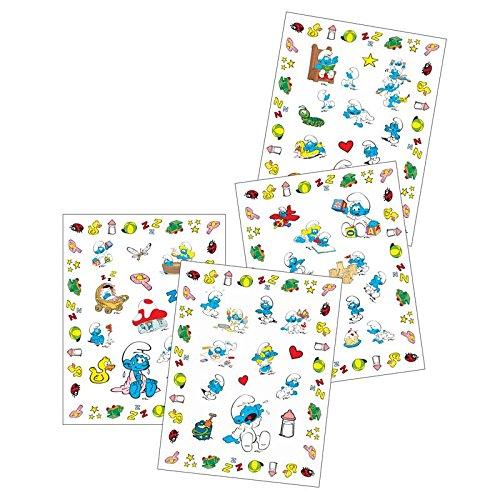 Barbo Toys 8003 Los Pitufos APPRENTISSAGE Stickers Beb/é pitufo