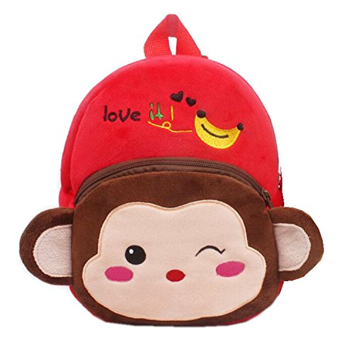 M2cbridge Cute Toddler Backpack Baby Plu - Monkey Backpack Shopping Results