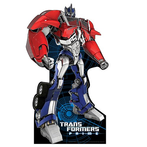 6 ft. 6 in. Optimus Prime Transformers Standee