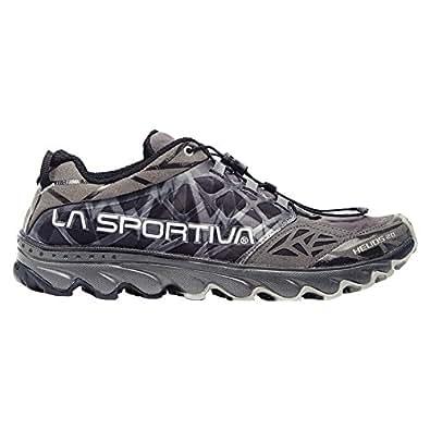 La Sportiva Helios 2.0 Men's Ultralight Trail Running Shoe, Black, 39.5