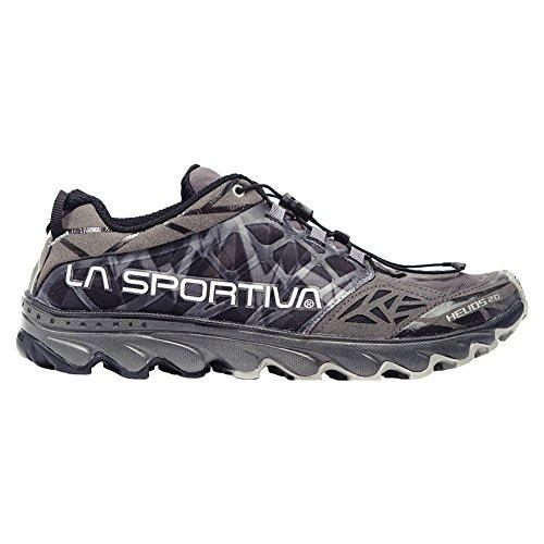 La Sportiva Helios 2.0 Men's Ultralight Trail Running Shoe, Black, 43.5