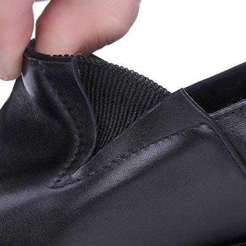 Mocassin À Lacets Pour Femmes Minivog Hell Chaussures Casual Mocassins Noirs