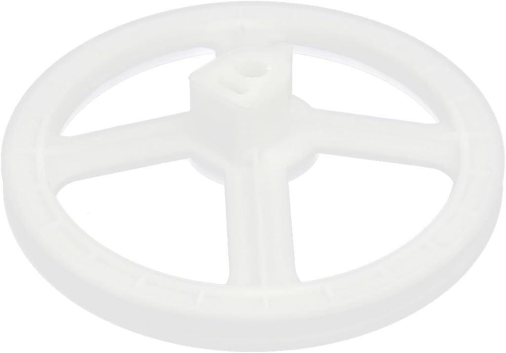Aexit Polea impulsora de correa de la correa de la lavadora de la altura de 159mm (model: K7635VIIO-6979LP) 'diámetro exterior 43mm