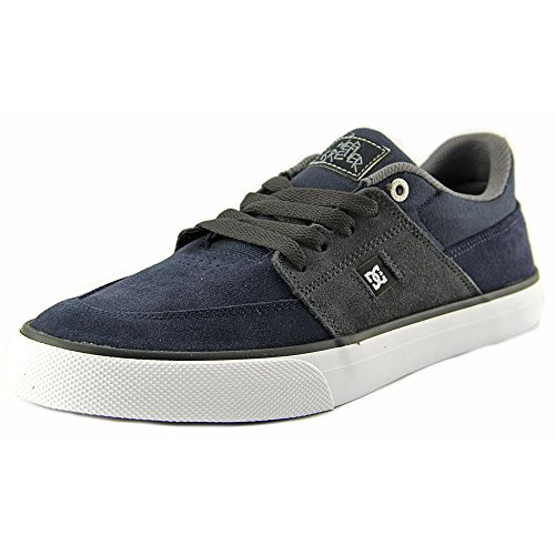 DC Wes Kremer - Zapatillas de ante para hombre gris Dark Shadow black resin