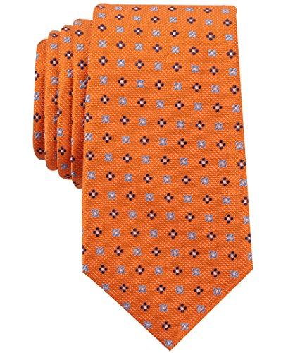 Nautica Men's Flare Neat Tie Accessory, -tangerine, One Size (Tie Tangerine Dress)