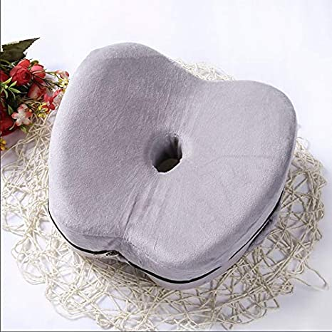 Legacy Foam Leg Memory Pillow Heart-Shaped Back Hips Knees Relief Support Wedge