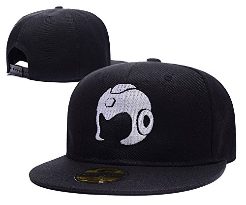 [HAIHONG Megaman X Zero Helmet Logo Adjustable Snapback Embroidery Hats Caps] (Megaman Hat)