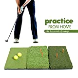 Milliard Golf 3-in-1 Turf Grass Mat Foldable