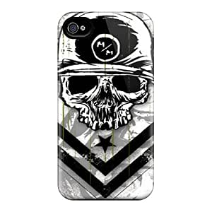 Iphone 6plus Cases Covers - Slim Fit Protector Shock Absorbent Cases (metal Mulisha)