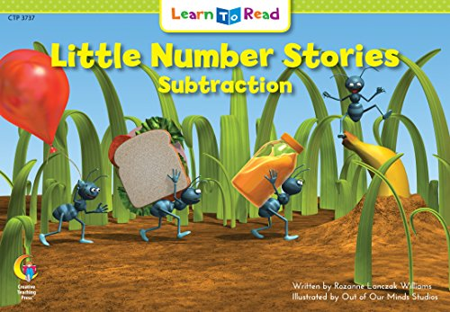 Little Number Stories Subtraction (Learn to Read Math)
