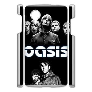 DIY Printed Band Oasis cover case For Google Nexus 5 BM7398759