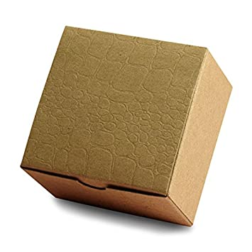 Amazon.com: Cartón Kraft Alligator Tuck parte superior Boxes ...
