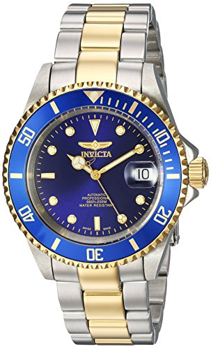 Invicta Men's 'Pro Diver' Automatic Stainless Steel Diving Watch, Color:Gold-Toned (Model: 9938OB) Watch Pro Wind Meter