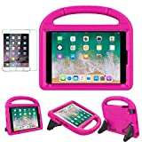iPad Mini 1/2/3/4 Kids Case, Soweiek Shockproof Protective Handle Bumper Stand Cover