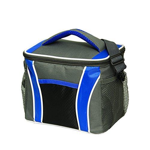 Bags for LessTM Siberian Freeze Cooler Bag Lunch BAG (Grey/Royal Blue)