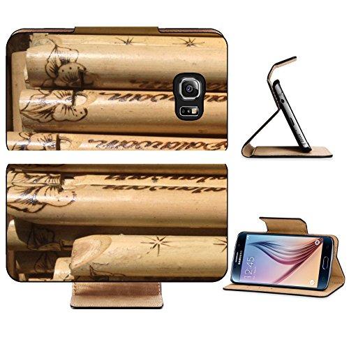 Luxlady Premium Samsung Galaxy S6 Edge Flip Pu Leather Wallet Case IMAGE 21922585 Wooden bird callers at Palawan Philippines