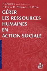 Gérer les ressources humaines en action sociale