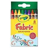Crayola 8-Count Fabric Crayons