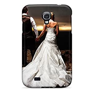 Waterdrop Snap-on Love Bridal Couple Case For Galaxy S4