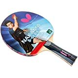 Butterfly Nakama S-6 Table Tennis Racket – Professional ITTF Approved Ping Pong Paddle –