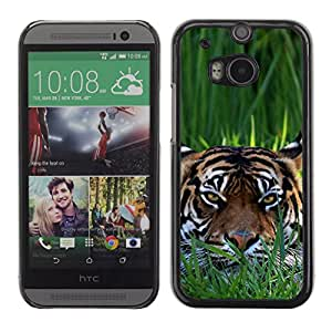 Omega Case Carcasa Funda Case Bandera - HTC One M8 ( Clever Tiger )