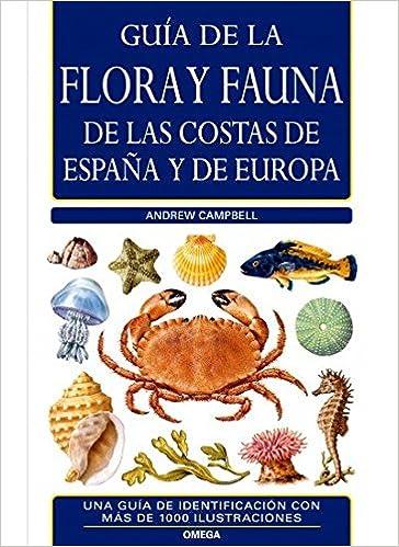 Flora y fauna de las costas de España y Europa.