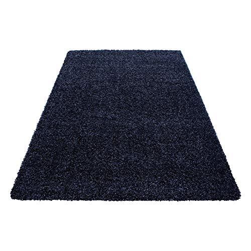 Hochflor Shaggy Teppich für Wohnzimmer Langflor Pflegeleicht Schadsstof geprüft 3 3 3 cm Florhöhe Oeko Tex Standarts Teppich, Maße 160x230 cm, Farbe Creme B01HQ7USHY Teppiche db4582