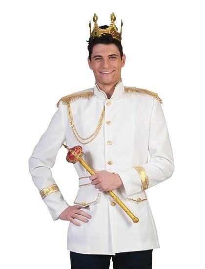 Disfraz De príncipe-Chaqueta para hombre: Amazon.es ...