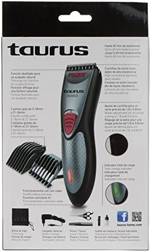 Taurus Ikarus - Cortapelos, color gris: Amazon.es: Salud y cuidado ...