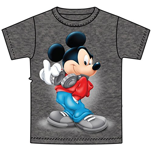 Disney Mickey Mouse Music Little & Big Boys Graphic T Shirt (M (8))