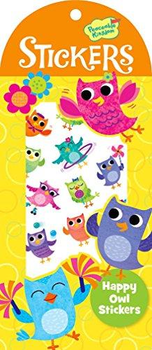 Peaceable Kingdom Happy Owl Sticker Pack