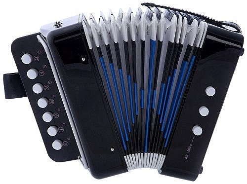 Used, MAGIKON Children Button Accordion Toy , Also Nice As for sale  Delivered anywhere in USA
